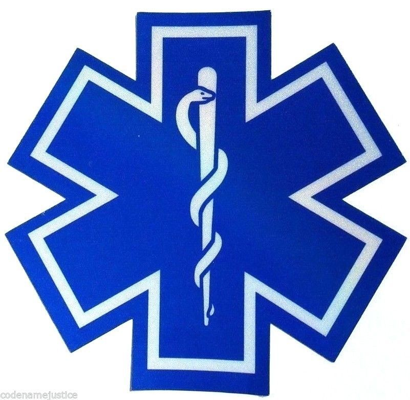 FIRST RESPONDER Highly Reflective Vinyl Decal EMT Paramedic PENNSYLVANIA