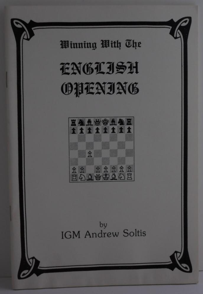 Primary image for Winning With The English Opening by IGM Andrew Soltis Chess Book