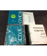 2002 HONDA CIVIC Service Shop Repair Manual Set OEM W 2001 2002 Parts Ca... - $98.99