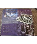 Drinking Chess Collection Glass board + 32 shot glass Pieces - $9.50
