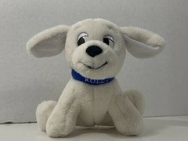 Disney Store 101 Dalmatians ROLLY small plush stuffed puppy dog blue collar - $9.89