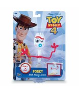 "Disney Pixar Toy Story 4 FORKY 8"" Pull & Go Figure 2019 NEW With Whacky ... - $21.99"