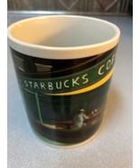 Starbucks Coffee Mug by Chaleur Nighthawks Diner Coffee Mug D. Burrows - $20.79