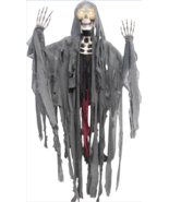 Scary Halloween Decorations 5-Ft Peeper Reaper With Moving Eyes Haunted ... - €40,27 EUR