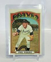 1972 Topps Baseball Card Phil Niekro # 620 HOF - $9.50