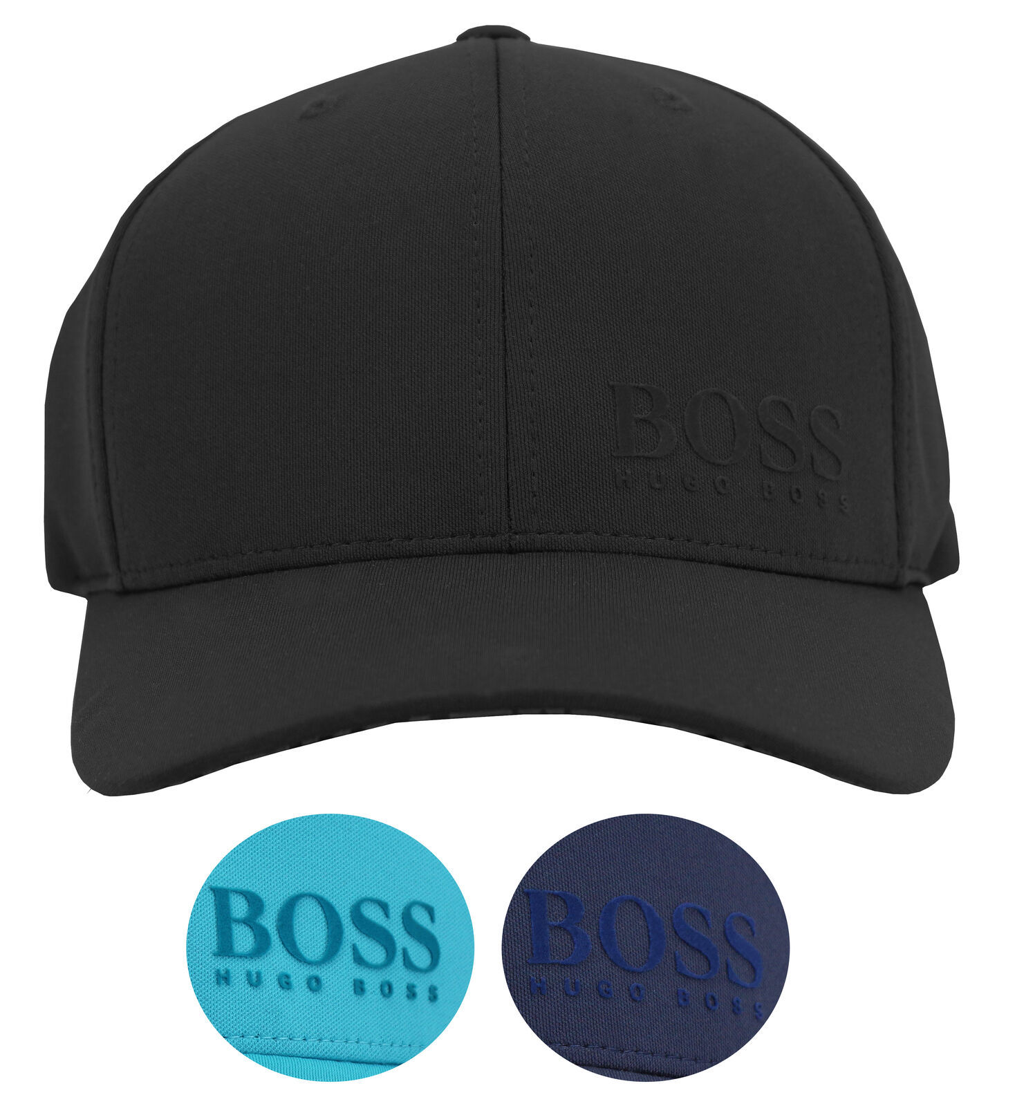 Hugo Boss Men's Breathable Sport Baseball Hat Solid Snapback Cap 50418770