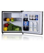 Mini Refrigerator Freezer Compact Fridge Office... - $121.97