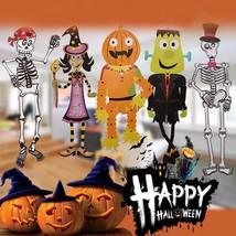 Assemble Halloween Pendant Witch Pirate Skull Pumpkin Man Spirit Festiva... - $9.95