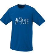 Fuck Me HashTag (Fuck It Parody) Stick Figure Humor T-shirt Small Blue - $16.95