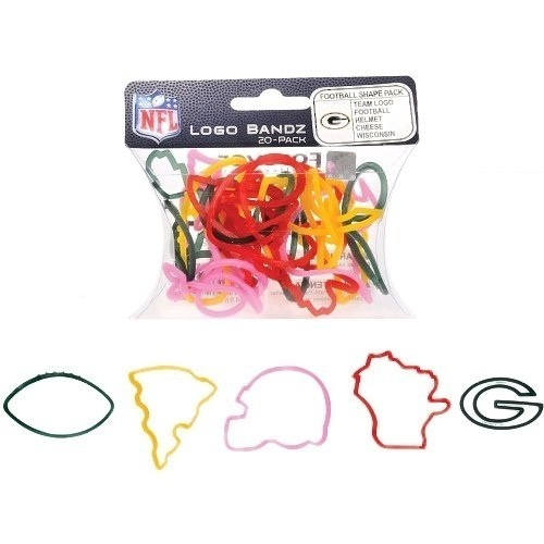 NFL Dallas Cowboys Steelers Jets Packers LSU Logo Rubber Band Bandz Bracelet