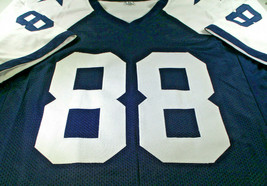MICHAEL IRVIN / NFL HALL OF FAME / AUTOGRAPHED DALLAS COWBOYS CUSTOM JERSEY COA image 2