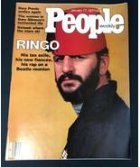 People Weekly Magazine Jan 17 1977 RINGO STARR No Label - $13.53