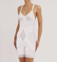 Rago Shapewear Body Briefer / Body Shaper Style 9071 - White - 44C - $41.58