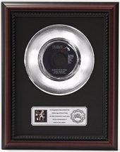 ELVIS PRESLEY THE ELVIS MEDLEY PLATINUM RECORD FRAMED CHERRYWOOD DISPLAY... - $104.45