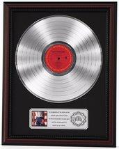 BRUCE SPRINGSTEEN BORN IN USA PLATINUM LP RECORD FRAMED CHERRYWOOD DISPL... - $151.95