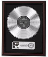 JAY Z REASONABLE DOUBT PLATINUM LP RECORD FRAMED CHERRYWOOD DISPLAY K1 - $151.95