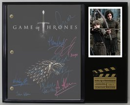 "GAME OF THRONES LTD EDITION REPRODUCTION TELEVISION SCRIPT DISPLAY""C3"" - $85.45"