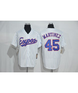 2017 Montreal Expos #45 MARTINEZ Jersey White.Embroidery - $37.99