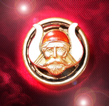 HAUNTED ANTIQUE PIN MYSTIC ORDER OF THE VEILED PROPHETS OF THE ENCHANTED REALM - $444.77