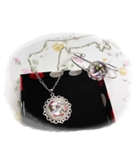 ANGEL BEATS エンジェルビーツ anime Cabochon Necklace and Bracelet Set  - $4.35+