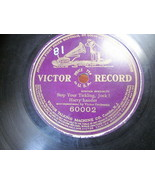 """10"""" 78 rpm RECORD VICTOR 60002 HARRY LAUDER STOP YOUR TICKLING JOCK SCOT... - £7.62 GBP"""