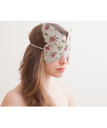 Butterfly Sleep Mask Slumber Party travel mask honeymoon gift Eye Sleep ... - £10.79 GBP