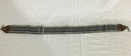 Guitar Strap Black Gray and White Adjustable - $14.99