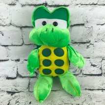 Peek-A-Boo Toys Turtle Plush Green Spotted Belly Stuffed Animal Soft Toy - $9.89