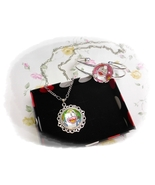 Obake No Q-Taro ( Q太郎 ) anime Cabochon Necklace and Bracelet Set  - $4.35+