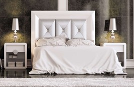 Krystal 07 Queen Size Bedroom Set Contemporary Modern Made in Spain