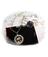 THE CURE Inbetween Days Cabochon Necklace and Bracelet Set  - $4.35+
