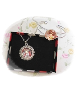 Pandora Hearts パンドラハーツAlice Baskerville anime Cabochon Necklace & Bracel... - $4.35+