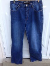 Chico's Jeans SZ 2 SHORT (Size medium 12-14) Med Wash - $21.29