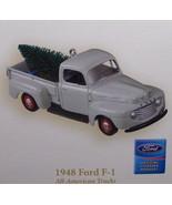 Hallmark 2006 All American Trucks #12 1948 Ford F-1 Pickup Truck Ornamen... - $64.95
