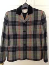 Vintage Evan Picone Genuine Lambswool Jacket Bl... - $37.19