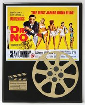 DR. NO JAMES BOND SEAN CONNERY MOVIE POSTER LIMITED EDITION MOVIE REEL D... - $66.45