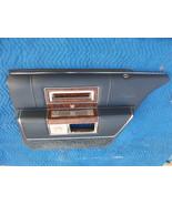 1990 CADILLAC BROUGHAM RIGHT REAR BLUE DOOR PANEL OEM USED FLEETWOOD  19... - $231.41