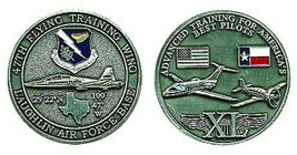 "LAUGHLIN AIR FORCE BASE ADVANCED TRAINING 1.75"" CHALLENGE COIN - $17.14"