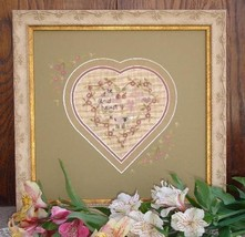 Glad Heart Kit cross stitch Shepherd's Bush - $28.00
