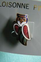 Cloisonne Enamel Pin Brooch Owl Pin Brooch NEW - $10.93