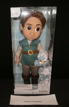 """Disney Store Animator's doll figure Toddler Flynn of Tangled 16"""" with Ma... - $49.61"""