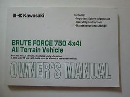 2008 Kawasaki Brute Force 750 4X4i All Terrain Vehicle Owner's Manual KAWASAKI - $69.26
