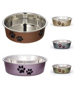 Dog Bowl Pet Cat Puppy Feeder Water Food Dish Stainless Steel Portable S... - $16.49+