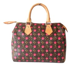 Louis Vuitton Cerises Cherry Monogram Speedy 25 Murakami  - $5,034.07 CAD