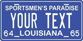 Louisiana 1964-65 Personalized Tag Vehicle Car Auto License Plate - $16.75