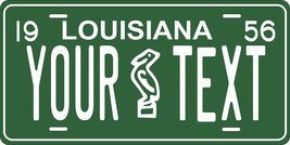 Louisiana 1956 Personalized Tag Vehicle Car Auto License Plate - $16.75
