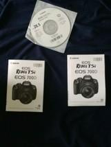 Canon REBEL T5i EOS 700D Digital Camera User Instruction Guide  Manual lot - $9.89
