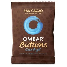 Ombar Coco Mylk Raw Chocolate Buttons 25g - $6.02