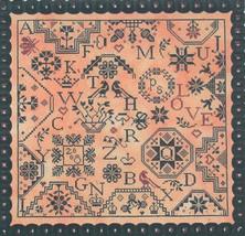 Simple Gifts Love quaker cross stitch chart Praiseworthy Stitches - $12.60