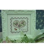 Floral Heart Kit cross stitch Shepherd's Bush - $12.00